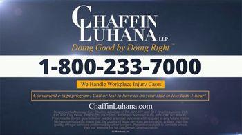 Chaffin Luhana TV Spot, 'Rear-Ended By 18 Wheeler' - Thumbnail 6