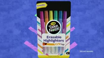 Crayola Take Note! TV Spot, 'Do Your Thing' Song by NVDES & REMMI - Thumbnail 10