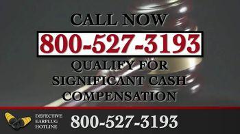 Junell & Associates, PLLC TV Spot, 'Defective Earplug Hotline' - Thumbnail 10