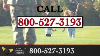 Junell & Associates, PLLC TV Spot, 'Defective Earplug Hotline' - Thumbnail 3