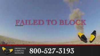 Junell & Associates, PLLC TV Spot, 'Defective Earplug Hotline' - Thumbnail 4