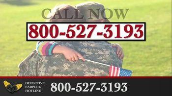 Junell & Associates, PLLC TV Spot, 'Defective Earplug Hotline' - Thumbnail 9