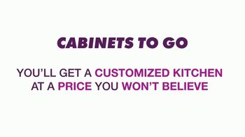 Cabinets To Go Buy One, Get One Free Cabinet Sale TV Spot, 'Great Deals' - Thumbnail 1