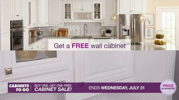 Cabinets To Go Buy One, Get One Free Cabinet Sale TV Spot, 'Great Deals' - Thumbnail 3