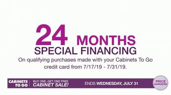 Cabinets To Go Buy One, Get One Free Cabinet Sale TV Spot, 'Great Deals' - Thumbnail 4