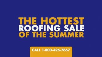 1-800-HANSONS Hottest Roofing Sale of the Summer TV Spot, 'August Roofing: Storm'