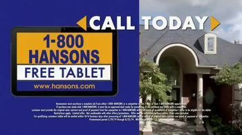 1-800-HANSONS Hottest Roofing Sale of the Summer TV Spot, 'August Roofing: Storm' - Thumbnail 7