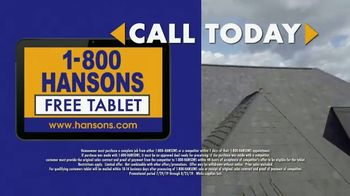 1-800-HANSONS Hottest Roofing Sale of the Summer TV Spot, 'August Roofing: Storm' - Thumbnail 8