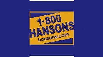 1-800-HANSONS Hottest Window Sale of the Summer TV Spot, 'August Windows' - Thumbnail 1