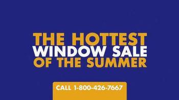 1-800-HANSONS Hottest Window Sale of the Summer TV Spot, 'August Windows'