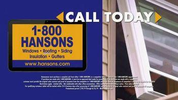 1-800-HANSONS Hottest Window Sale of the Summer TV Spot, 'August Windows' - Thumbnail 7