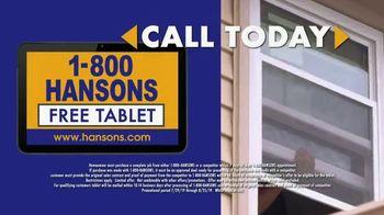 1-800-HANSONS Hottest Window Sale of the Summer TV Spot, 'August Windows' - Thumbnail 8
