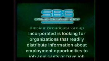 Sinclair Broadcast Group TV Spot, 'FOX 17: Job Vacancies' - Thumbnail 2