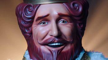 Burger King Crispy Taco TV Spot, 'Paramount Network: Eyes of Steel' Feat. Baby Slice, King Mo Lawal - Thumbnail 7