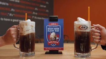 A&W Restaurants TV Spot, '2019 National Root Beer Float Day'