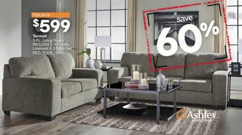 Ashley HomeStore Black Friday in July TV Spot, 'Final Days: Room Packages' Song by Midnight Riot - Thumbnail 5