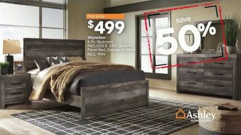 Ashley HomeStore Black Friday in July TV Spot, 'Final Days: Room Packages' Song by Midnight Riot - Thumbnail 6