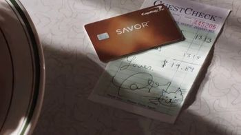 Capital One Savor Card TV Spot, 'Four Percent with Friends Pre-Order' Featuring Taylor Swift - Thumbnail 3