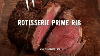 Boston Market Rotisserie Prime Rib TV Spot, 'Rotisserie Everything'