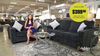 Ashley HomeStore Venta de Familia y Amigos TV Spot, 'Grandes descuentos: sofá Altari' [Spanish] - Thumbnail 6