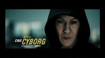 ESPN+ TV Spot, 'UFC 240: Cyborg vs. Spencer' - 50 commercial airings