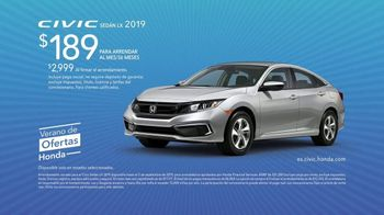 Honda Verano de Ofertas TV Spot, 'Civic y Accord' [Spanish] [T2] - Thumbnail 8