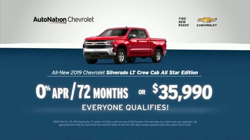 AutoNation TV Commercial, 'Save Now: 2019 Chevy Silverado and Equinox'