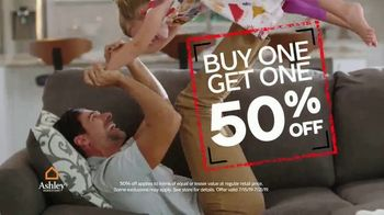Ashley HomeStore Black Friday in July TV Spot, 'BOGO and Zero Percent Interest' Song by Midnight Riot - Thumbnail 3