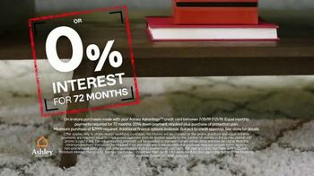 Ashley HomeStore Black Friday in July TV Spot, 'BOGO and Zero Percent Interest' Song by Midnight Riot - Thumbnail 6