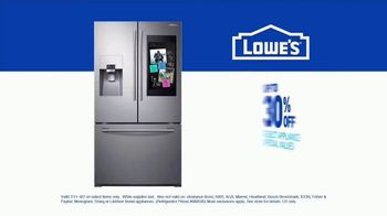 Lowe's TV Spot, 'Save the Best for Last: Samsung Family Hub' - Thumbnail 9