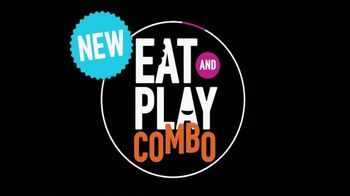 Dave and Buster's Eat and Play Combo TV Spot, 'Apps and Game Card' - Thumbnail 1