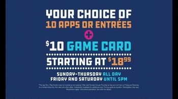 Dave and Buster's Eat and Play Combo TV Spot, 'Apps and Game Card' - Thumbnail 3