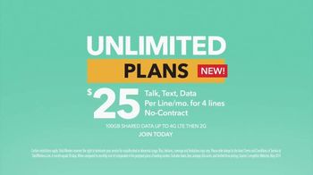 Total Wireless Unlimited Plans TV Spot, 'Set Your Smartphone Free'