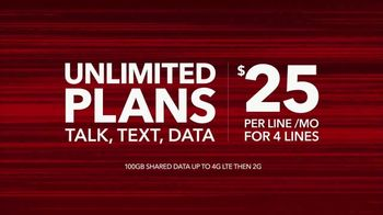 Total Wireless Unlimited Plans TV Spot, 'Set Your Smartphone Free' - Thumbnail 3
