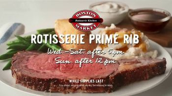 Boston Market Rotisserie Prime Rib TV Spot, 'Warning: Vegetarians'