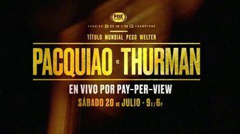 Premier Boxing Champions TV Spot, 'Pacquiao vs. Thurman' [Spanish] - Thumbnail 10