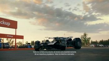 Walmart Grocery Pickup TV Spot, 'Famous Cars: Batmobile' [Spanish] - Thumbnail 4