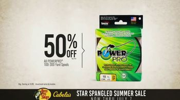 Bass Pro Shops Star Spangled Summer Sale TV Spot, 'Yard Spools and Shorts'