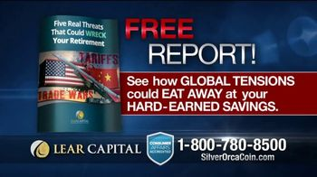 Lear Capital 2-Ounce Silver Orca Coins TV Spot, 'Shield Your Savings' - Thumbnail 8