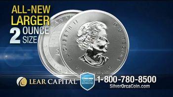 Lear Capital 2-Ounce Silver Orca Coins TV Spot, 'Shield Your Savings' - Thumbnail 3