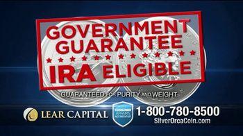 Lear Capital 2-Ounce Silver Orca Coins TV Spot, 'Shield Your Savings' - Thumbnail 4