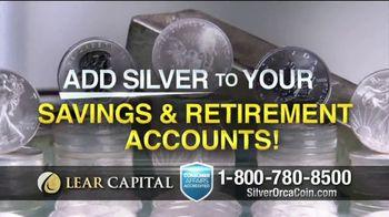 Lear Capital 2-Ounce Silver Orca Coins TV Spot, 'Shield Your Savings' - Thumbnail 5