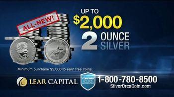 Lear Capital 2-Ounce Silver Orca Coins TV Spot, 'Shield Your Savings' - Thumbnail 6