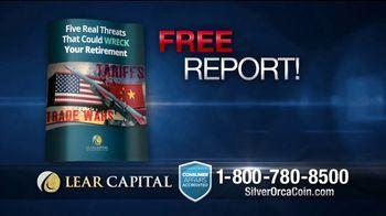 Lear Capital 2-Ounce Silver Orca Coins TV Spot, 'Shield Your Savings' - Thumbnail 7