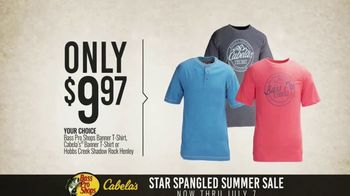 Bass Pro Shops Star Spangled Summer Sale TV Spot, 'T-Shirts and Cooler'