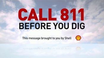 Shell TV Spot, 'Call Before You Dig' - Thumbnail 7