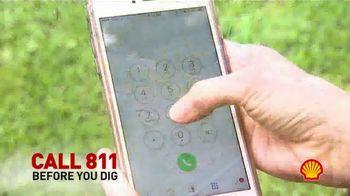 Shell TV Spot, 'Call Before You Dig' - Thumbnail 3