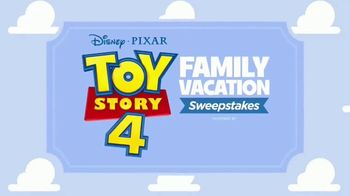 Toy Story 4 Family Vacation Sweepstakes TV Spot, 'Pack Your Bags'