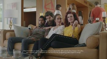 Sling TV Spot, 'First Timers: Easy: First Month' Featuring Nick Offerman, Megan Mullally - 468 commercial airings