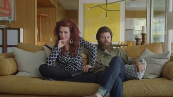 Sling TV Spot, 'First Timers: Easy: First Month' Featuring Nick Offerman, Megan Mullally - Thumbnail 1
